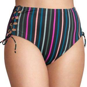Terra & Sky Women's Plus Highwaist Swimsuit Bottom
